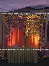 Kundan Wedding Mandap