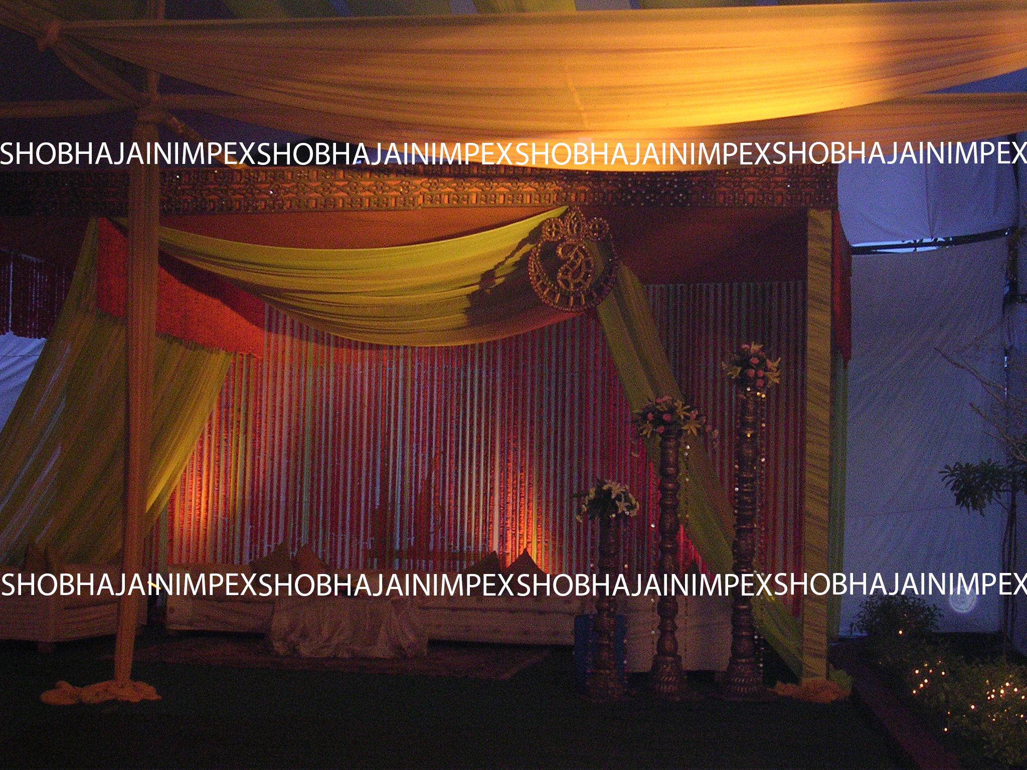 Kundan Wedding Mandap