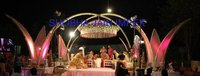 Lotus Iron Wedding Mandap