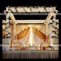 Matka Pillar Wedding Mandap