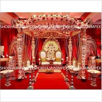 Moustache Wedding Mandap