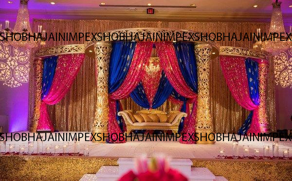 New De Plazzio Jali Wedding Mandap