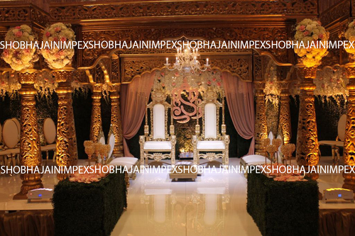 New Golden Maharaja Wedding Mandap