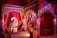 New Golden Maharaja Wedding Mandap