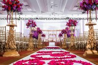 New Peacock Wood Wedding Mandap