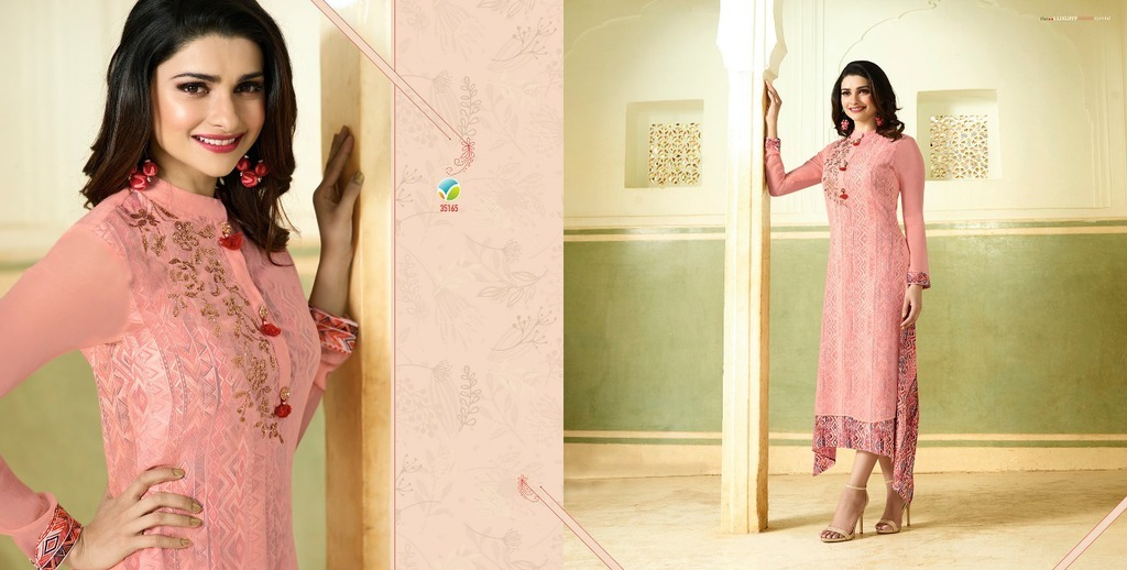 Designer Gown Style kurti Collections