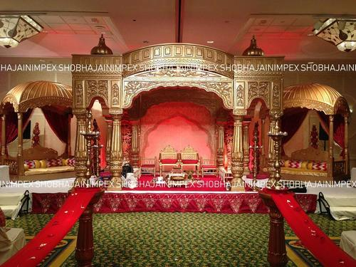Palace Theme Wedding Mandap