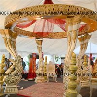 Peacock Pillar Mandap