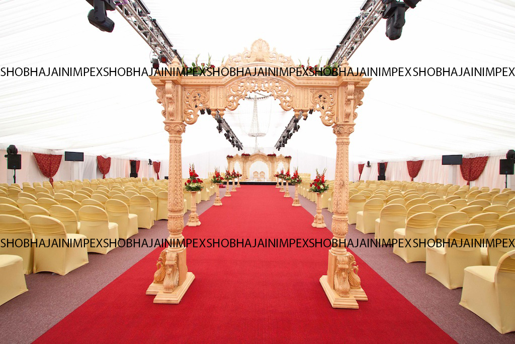 Peacock Wedding Mandap