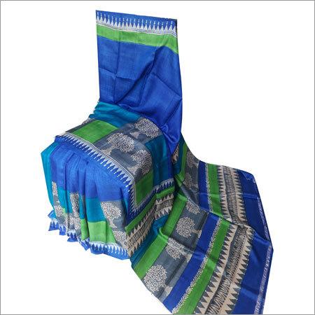 Bengal Handloom Pure Silk (Bishnupur Silk) Saree
