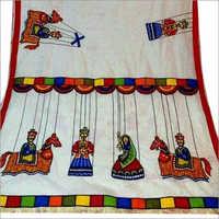 Kalamkari Print Designer Saree