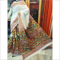 Handloom Printed Cotton Saree