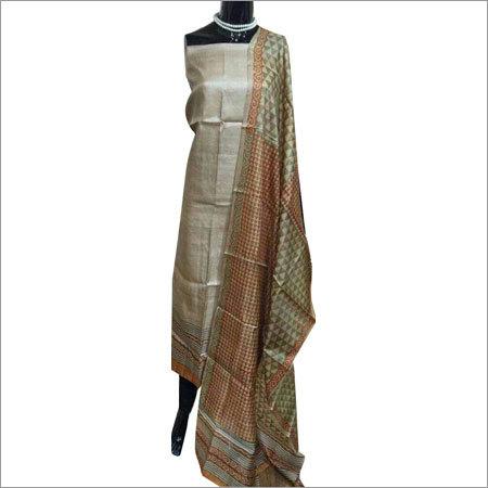 Pure Tussar Dress Materials
