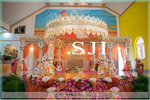 Rajasthani Royal Jali Wedding Mandap