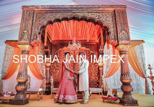 Raj Haveli Style Wedding Mandap