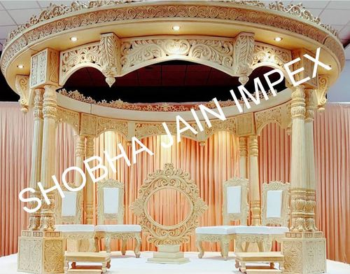 Raj Mahal Double Pole Wedding Mandap
