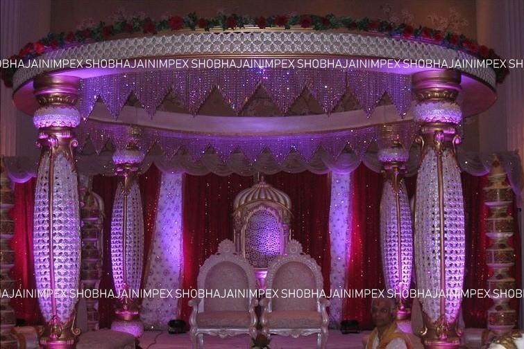 Rajwada Jali Wedding Mandap