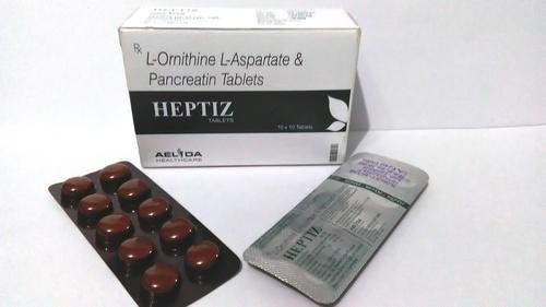 L-Ornithine  L-Aspartate  &  Pancreatin Tablets