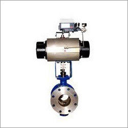 3 Way Ball Valve with Rotary Actuator