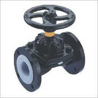 PTFE Line Weir Type Manual Valve
