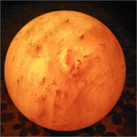 GLobe Shaped Rock Salt Lamp