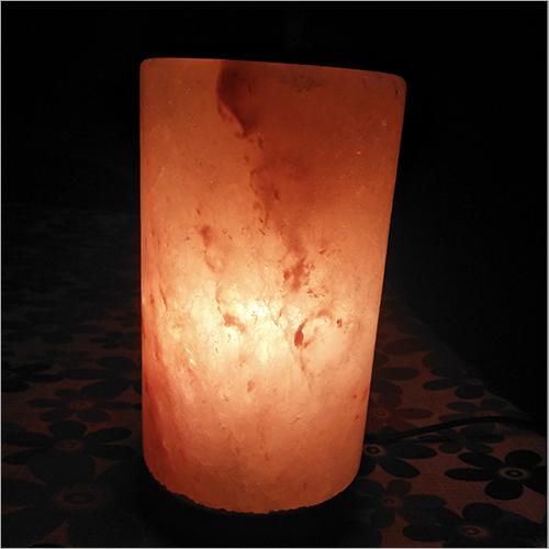 Cylinder Rock Salt Lamp