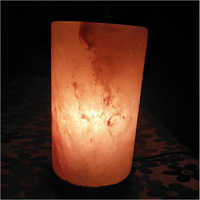 Cylinder Rock Salt Lamp