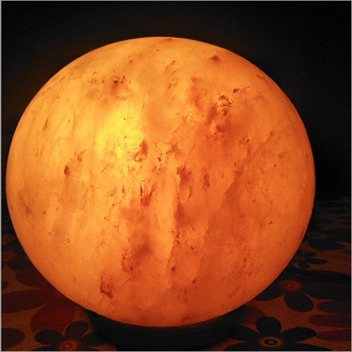 Ball Shaped Rock Salt Lamp