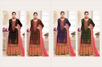 Heavy Designer Bridal Wear Sarara Suits