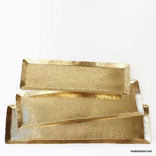 Brass Rectangular Serving Tray