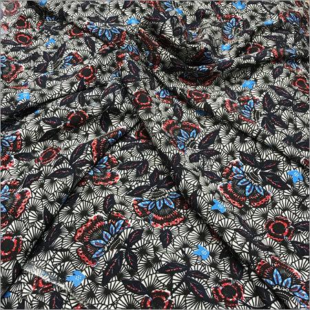 Printed Crepe Fabrics