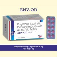 Doxylamine + Pyridoxine + Folic