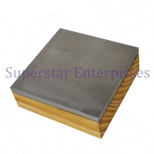 Steel Bench Block with Wooden Base