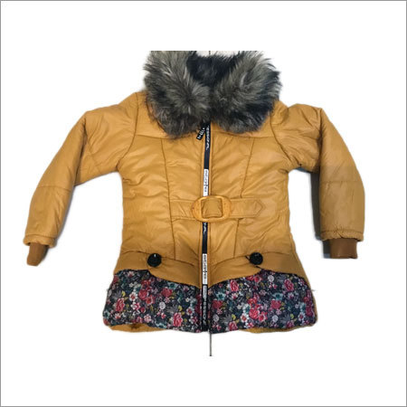 Girls Buckle Jacket
