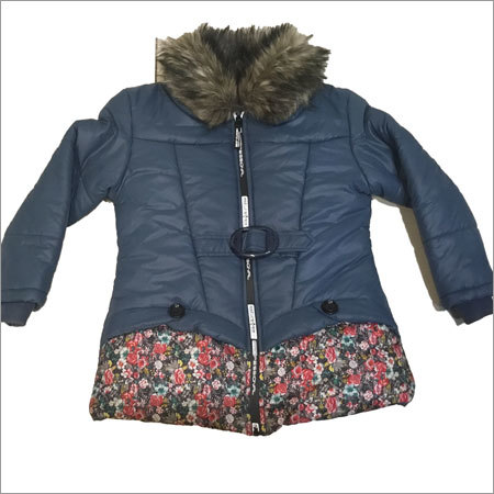 Girls Front Blue Jacket