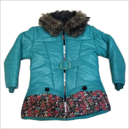 Girls Green Front Jacket