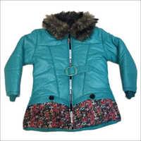 Girls Green Front Jacket