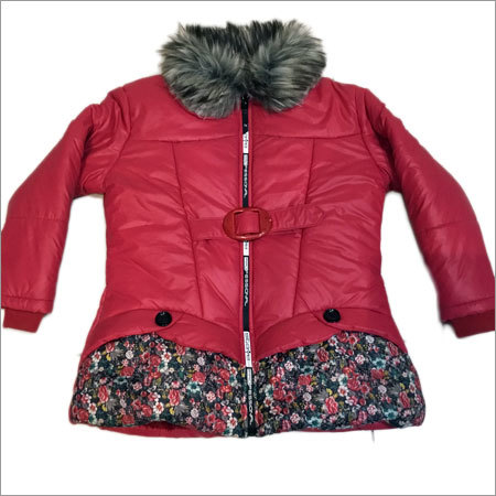 Girls Jacket With Buckle