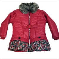 Girls Red Front Jacket