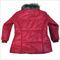 Girls Red Back Jacket