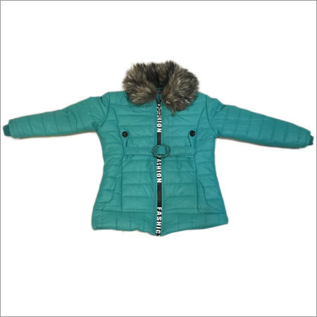 Girls Fur Collar Jacket