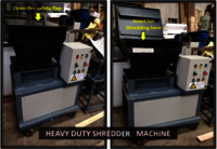Heavy Duty Shredder Machine