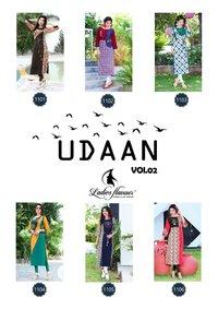 Rayon Print Kurtis Udaan Vol 2