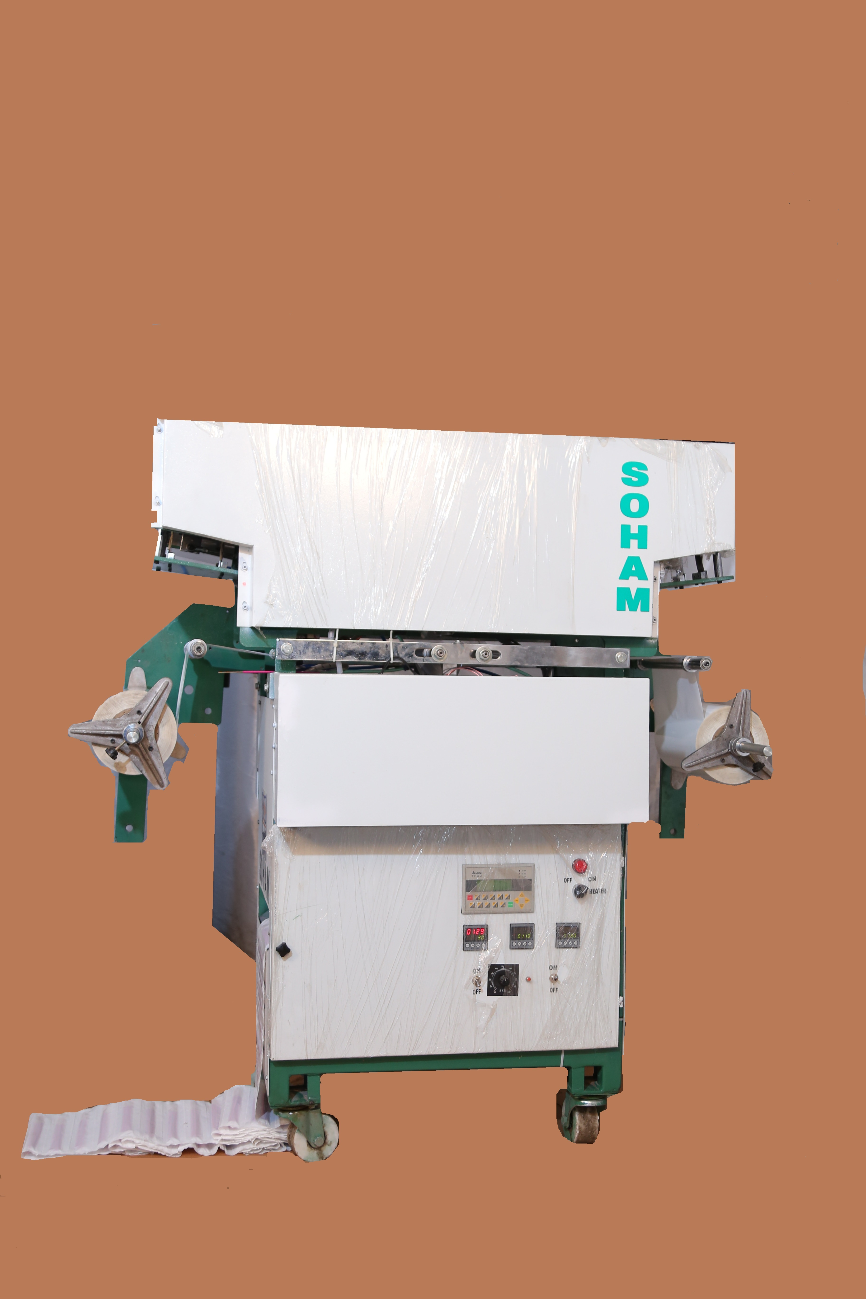 Automatic Sequential Florabatti Counting & Packing Machine