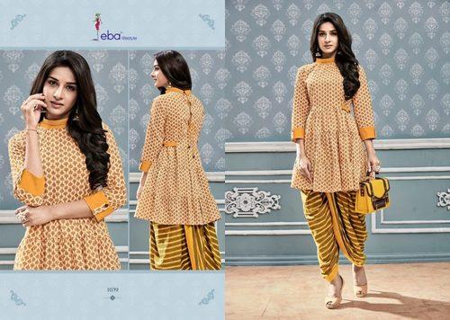 Kurti With Dhoti Pattern Collection Eba Vol