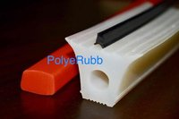 Silicone rubber extrusion