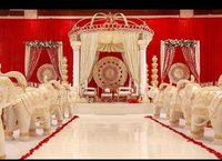 Roman Iron Wedding Mandap