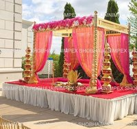 Traditional Sankheda Wedding Mandap