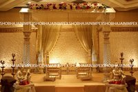 Slim Pillar traditional Wedding Madap