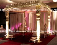 Slim Pillar traditional Wedding Madap
